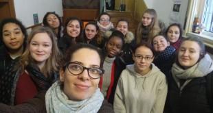 vizita elevi din Franta