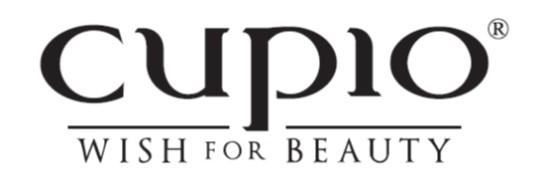 Logo Cupio wish for beauty